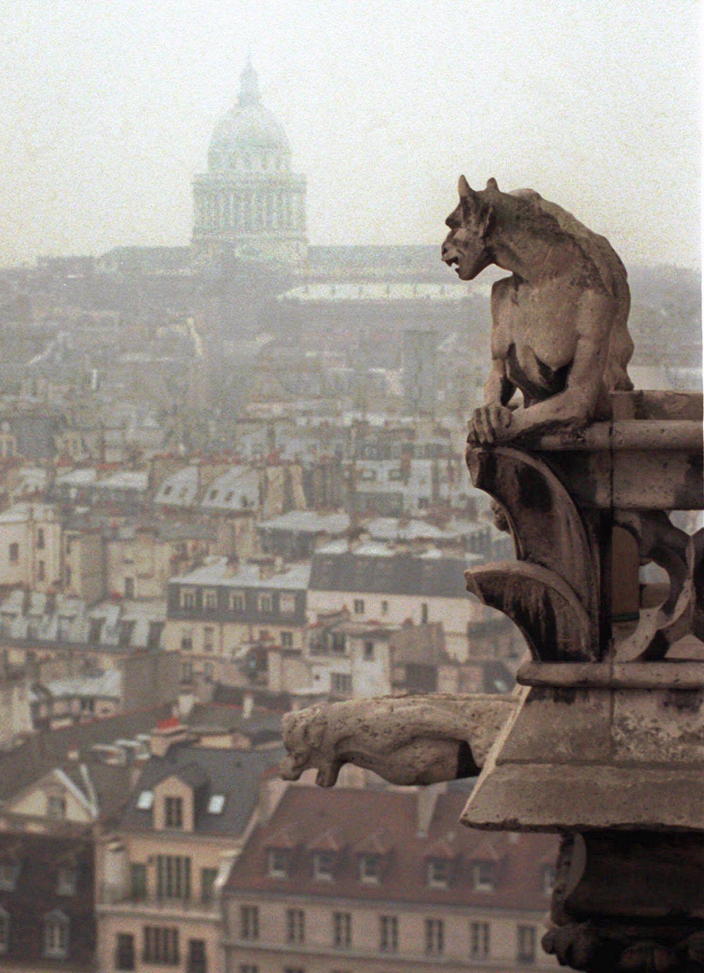 Архівні фото собору паризької богоматері_19