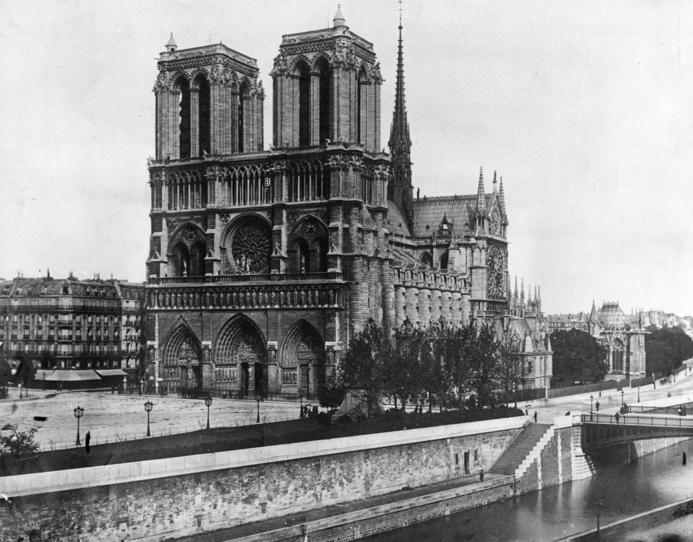 Архівні фото собору паризької богоматері_6