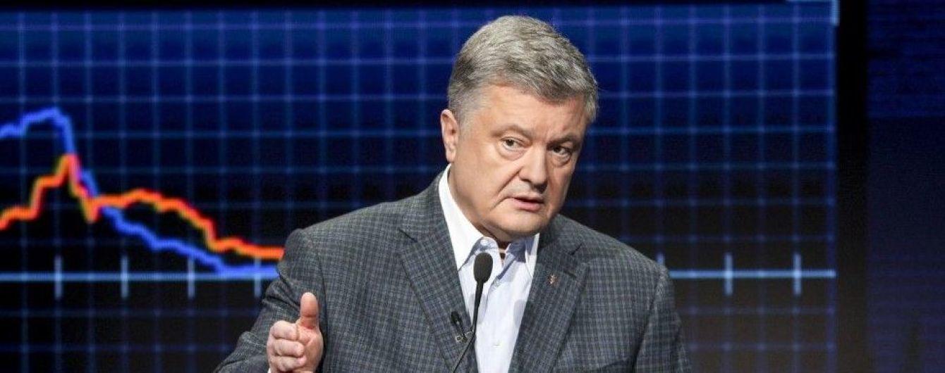 Порошенко назвал экстрадицию подозреваемого в коррупции Крючкова предвыборной технологией штаба Зеленского