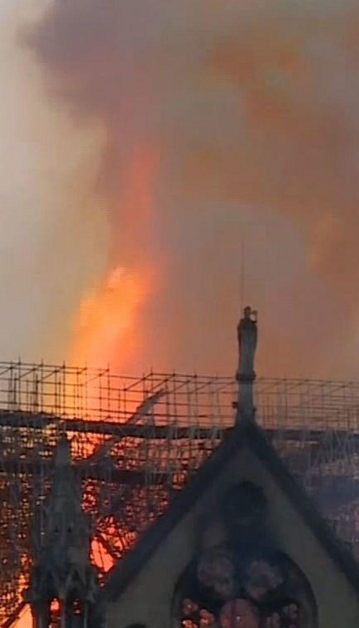 Еммануель Макрон оголосив про міжнародний збір коштів на відновлення Нотр-Даму