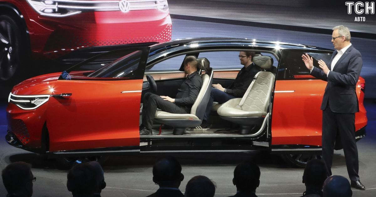 Volkswagen представил трехрядный кроссовер на электричестве
