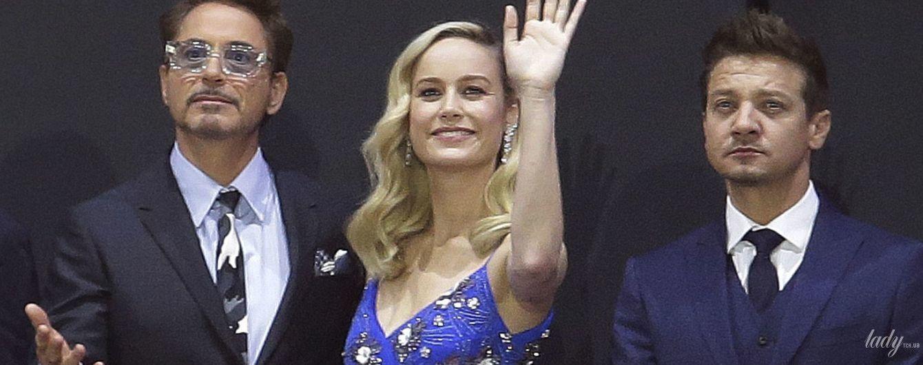 """У коктейльній сукні і на шпильках: Брі Ларсон на прем'єрі фільму """"Месники: завершення"""""""