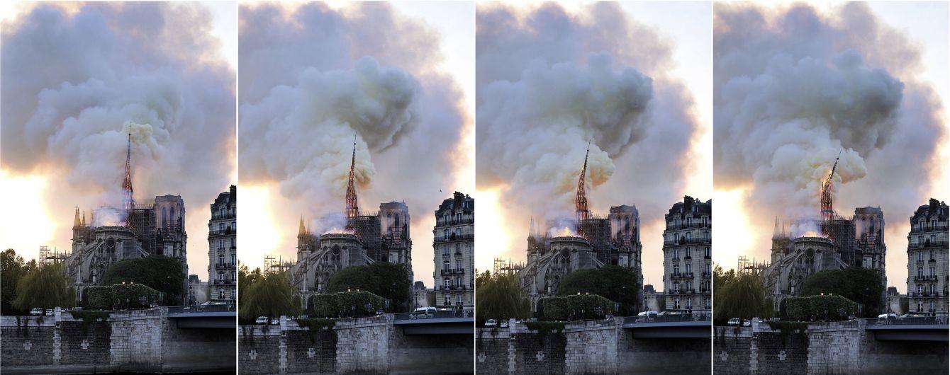 """Французький футбол """"мобілізується фінансово"""" для відновлення собору Паризької Богоматері після пожежі"""