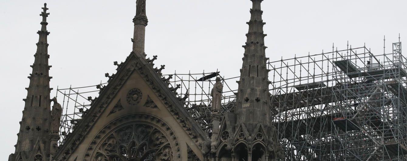 Паризький собор остаточно загасили
