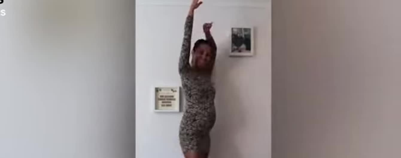 Беременная балерина на протяжении девяти месяцев снимала на видео, как растет ее животик