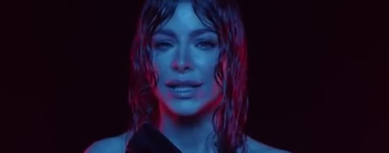 Заплаканная Ани Лорак в латексе сняла первый клип после развода