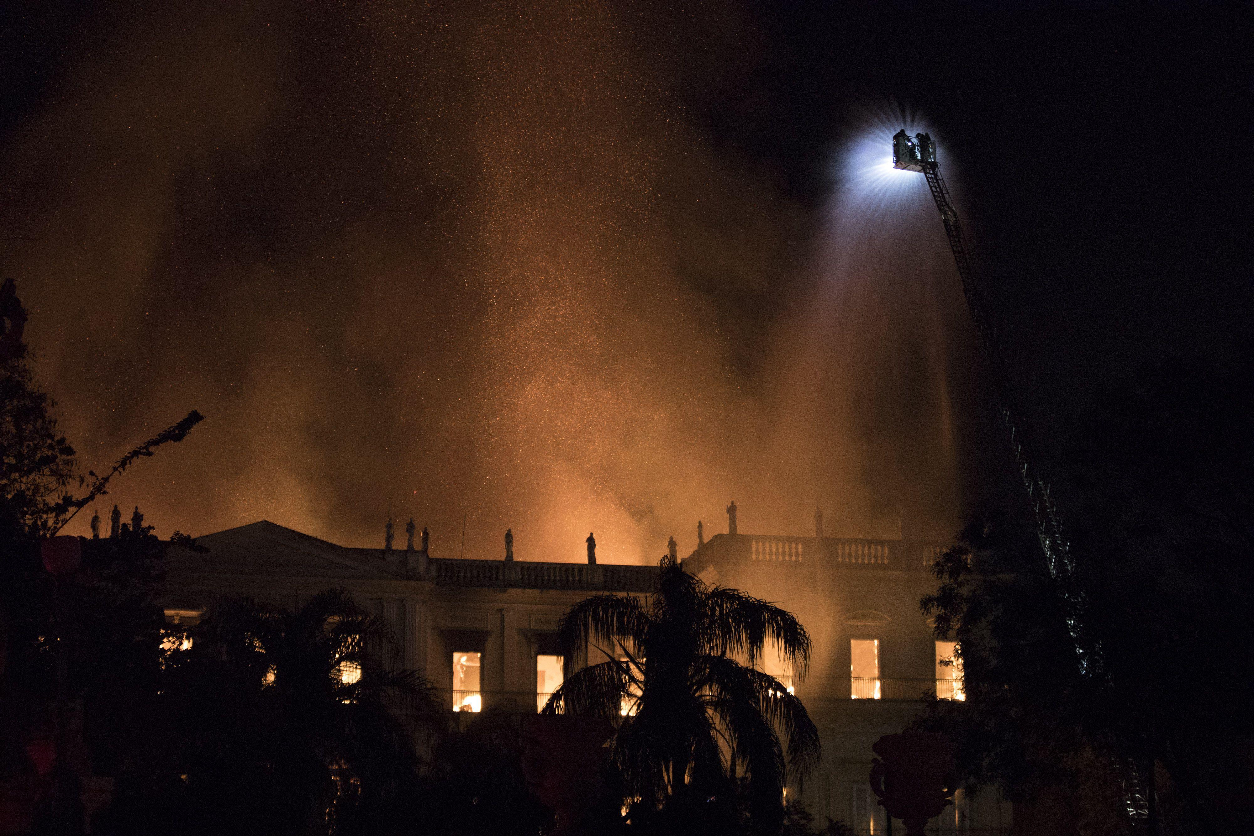бразилія музей пожежа 2