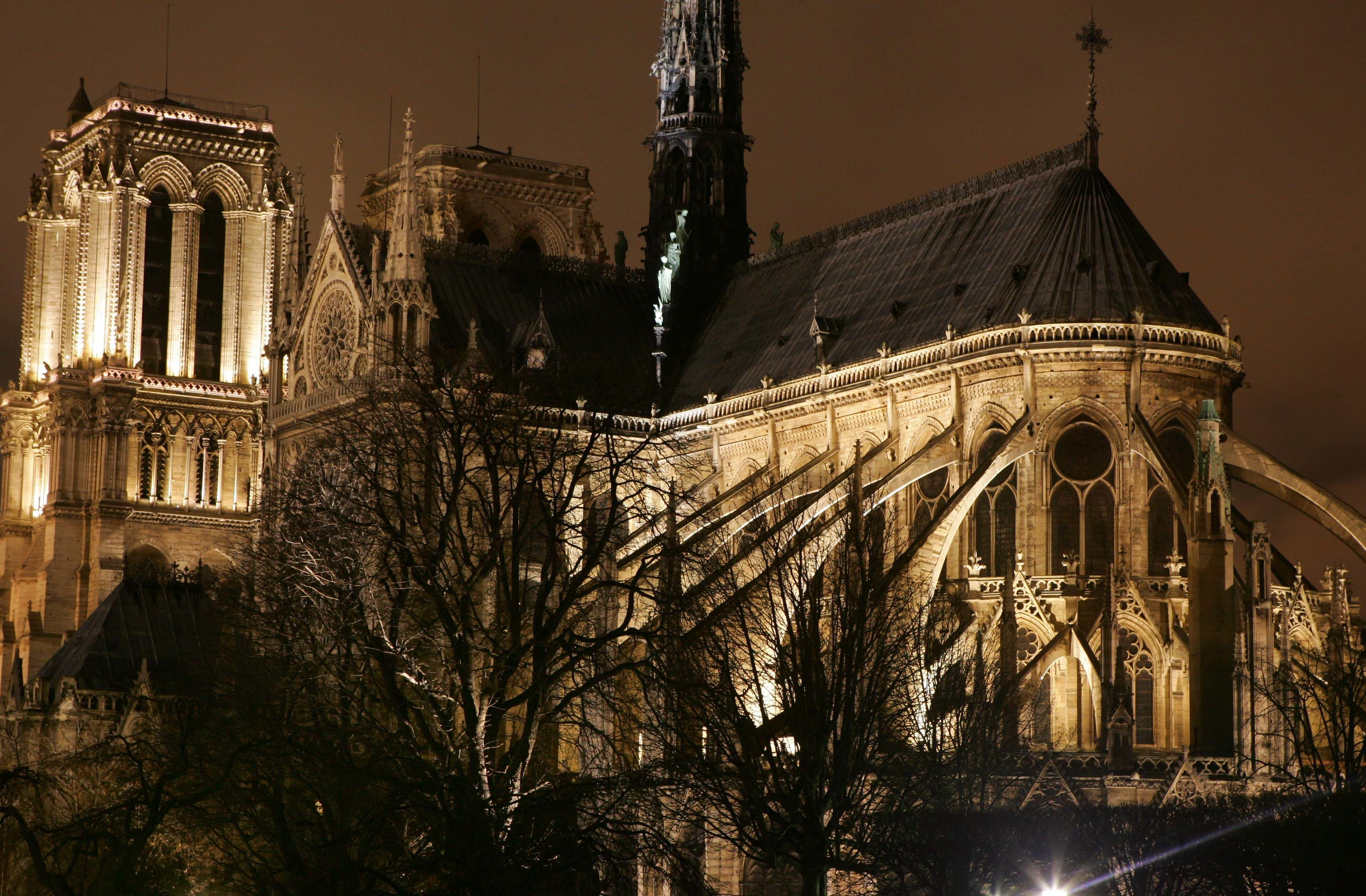 Архівні фото собору паризької богоматері_4