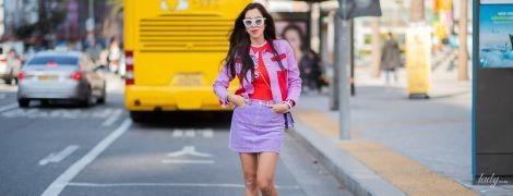Как носить мини-юбку