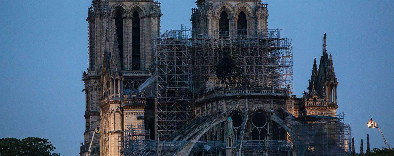 Национальное собрание Франции одобрило проект о реставрации собора Парижской Богоматери