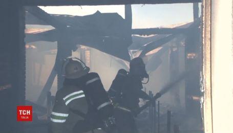 Спасателям удалось вывести более тысячи свиней из огня, еще 500 - погибли