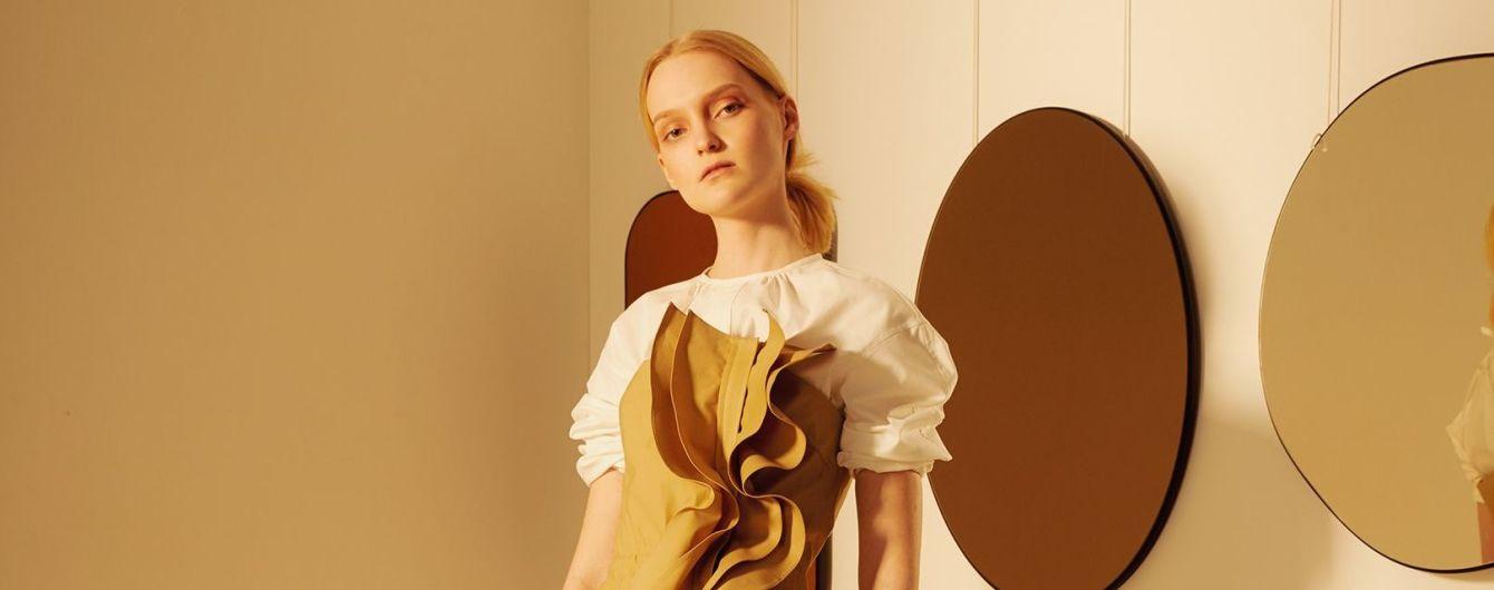 Комбинезоны с воланами и кокетливые платья в весенней коллекции украинского бренда