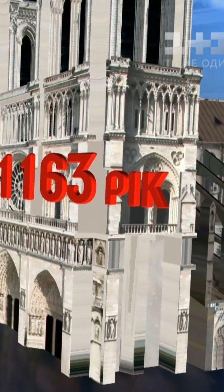 Нотр-Дам де Пари горел впервые за почти 900-летнюю историю