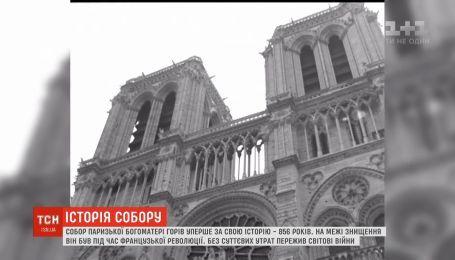 Доля Нотр-Дам: десятки французів молились навколішках за храм