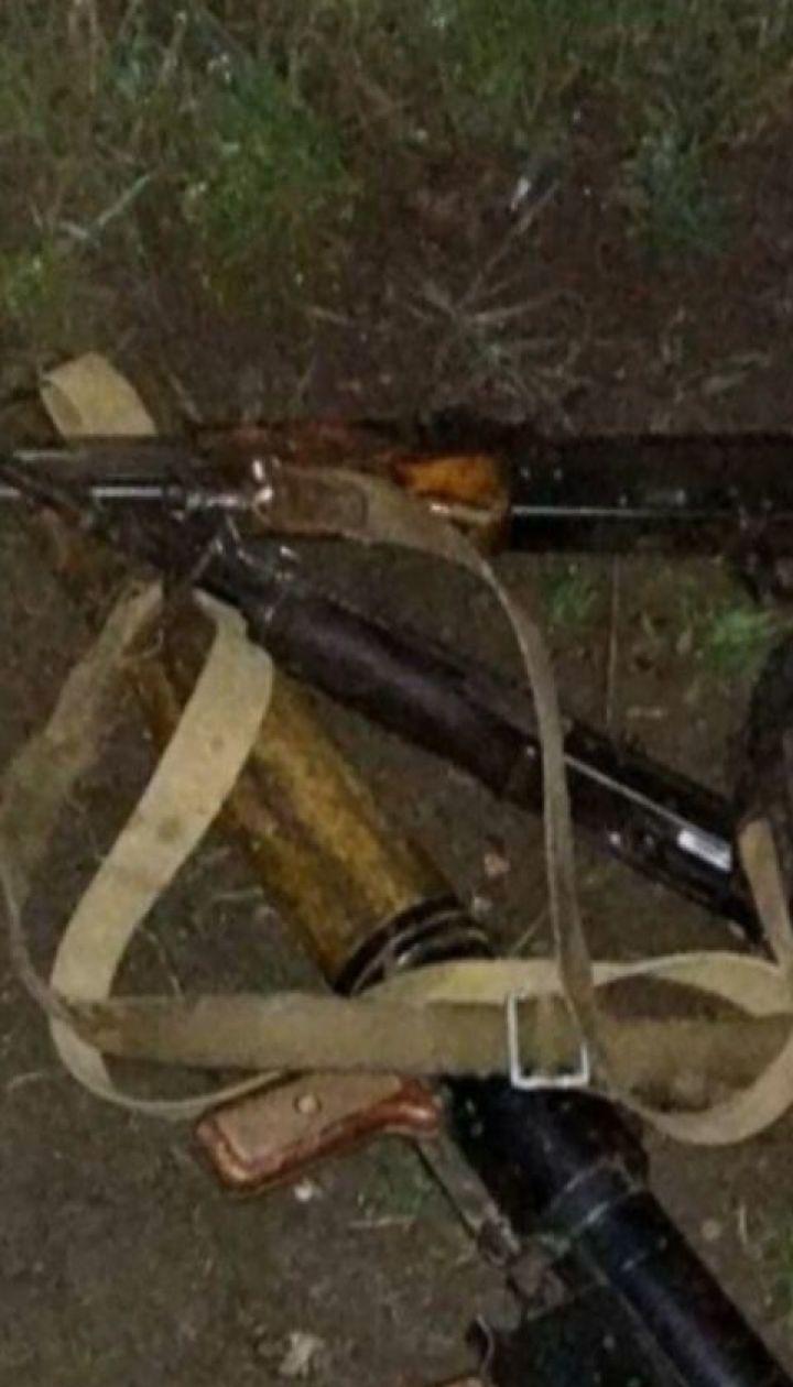 Трофейное оружие и карту врагов добыли украинские военные