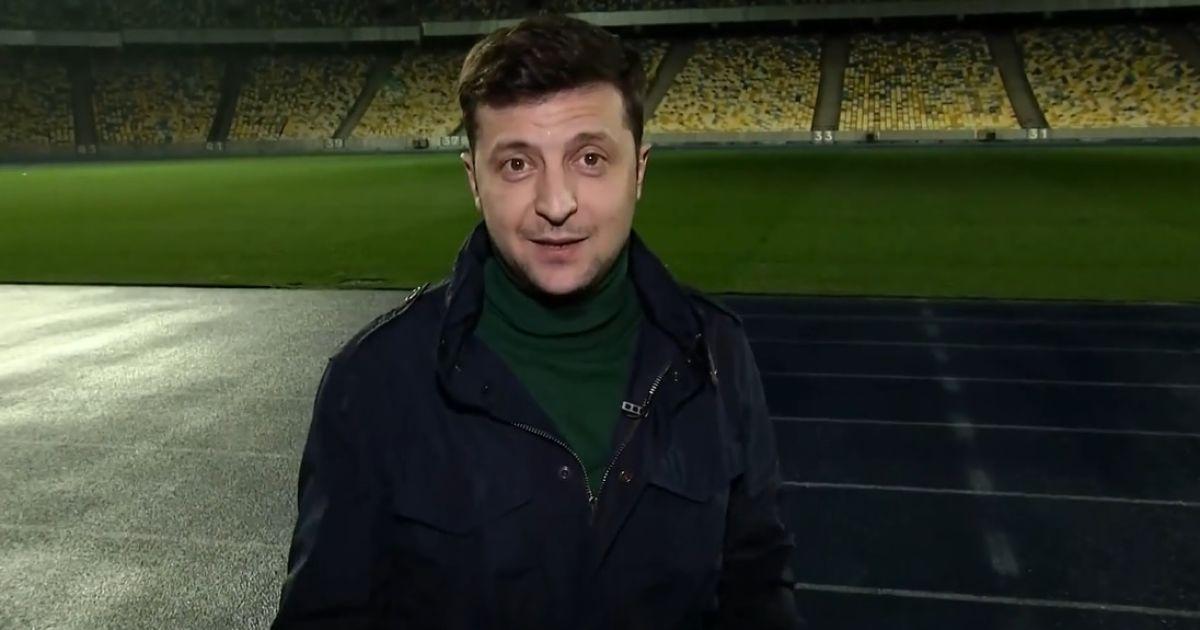 "Зеленский объявил о начале распространения билетов на дебаты на ""Олимпийском"""