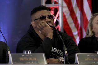 Непобедимый американский боксер провалил тест на допинг перед боем с Джошуа