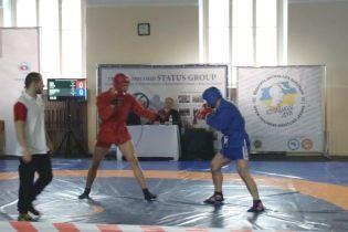 Статус Груп - спонсор Чемпіонату бойового Самбо та Черлідінг серед молоді в Україні