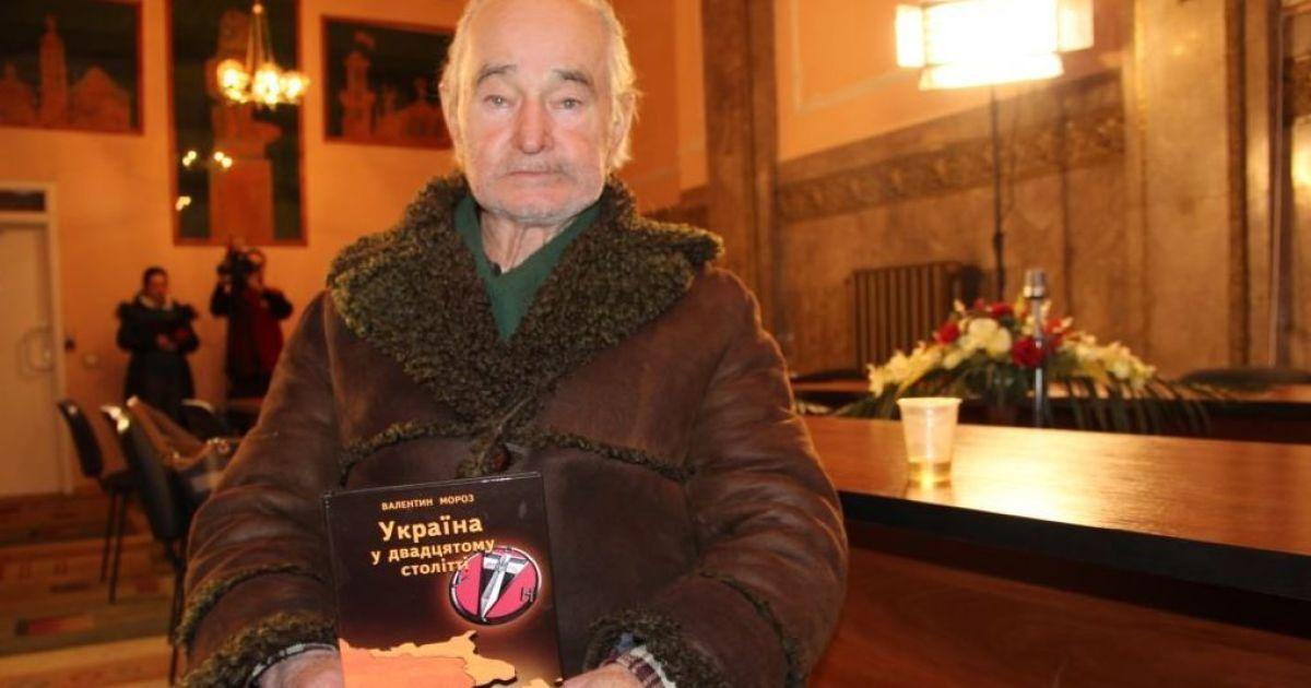 У Львові помер дисидент та історик Валентин Мороз