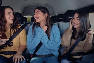 Uber запускает в Киеве собственные микроавтобусы