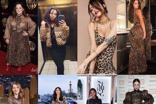 Звезды в леопарде: как носить хищний принт и не выглядеть при этом нелепо