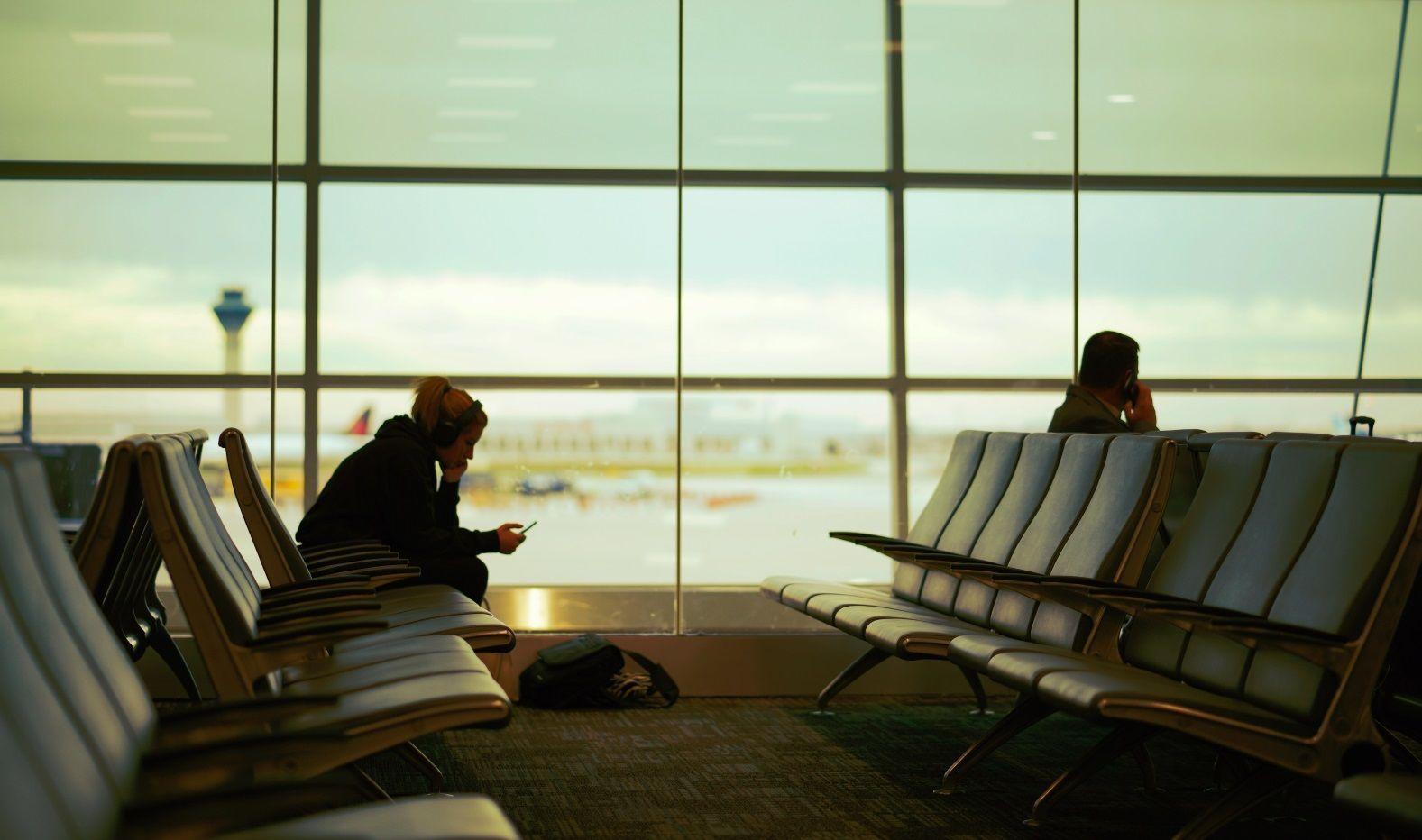 самолет аэропорт зал ожидания