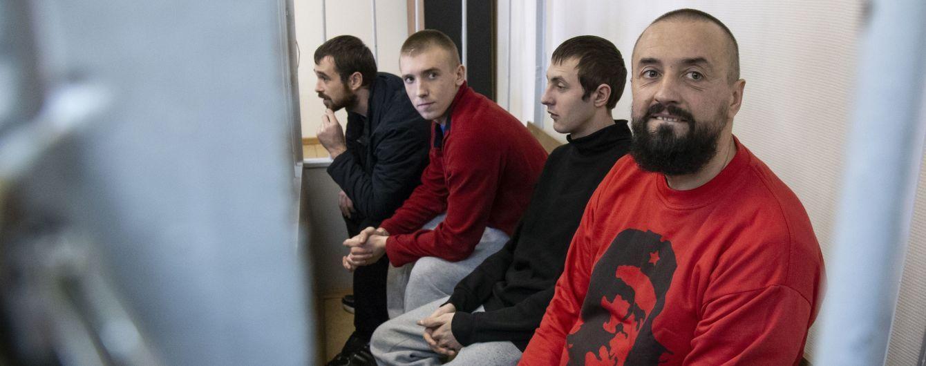 Російський суд призначив дату розгляду апеляції на арешт українських полонених моряків