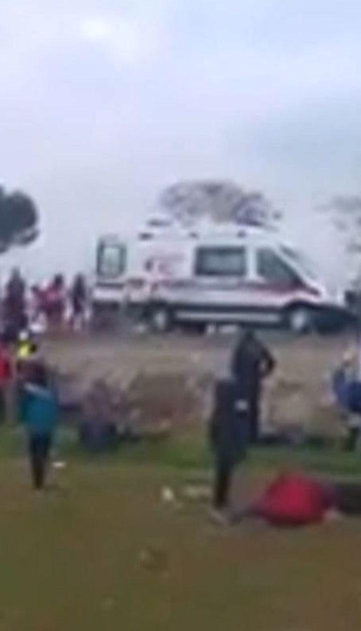 34 людини травмувались внаслідок автобусної трощі в Туреччині