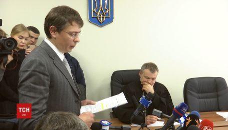 Крючков виступив у залі суду щодо корупційних схем оточення президента