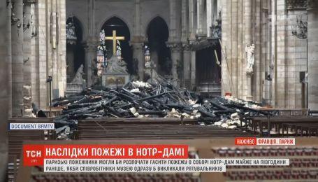 Співробітники не розуміли, що чули сигналізацію у храмі Паризької Богоматері