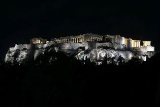 В афинский Акрополь попала молния, пострадали четверо человек