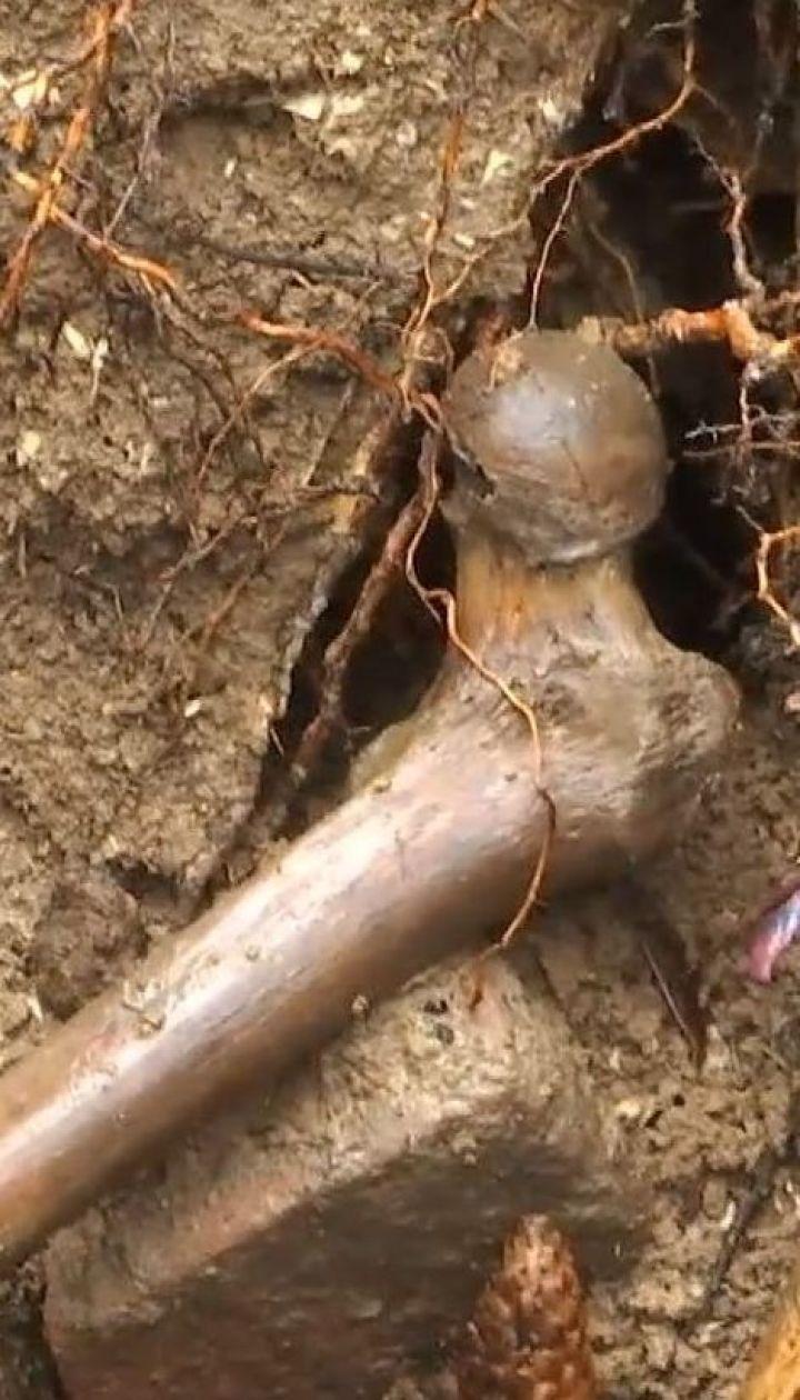 Жуткая находка: в Виннице студенты нашли человеческие останки