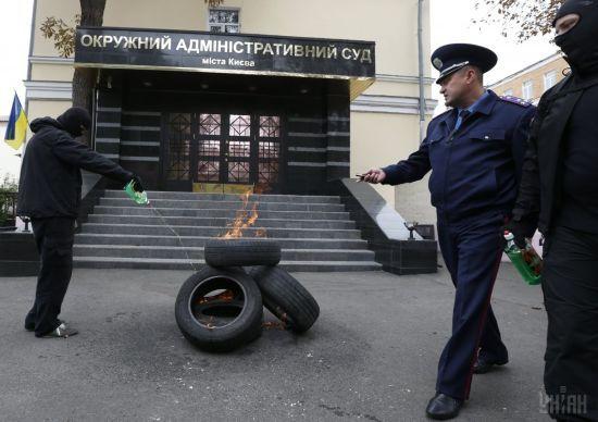 Судді Окружного адмінсуду Києва знову проігнорували оцінювання