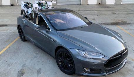 У Мережі засвітили фото пікапа Tesla на базі Model S