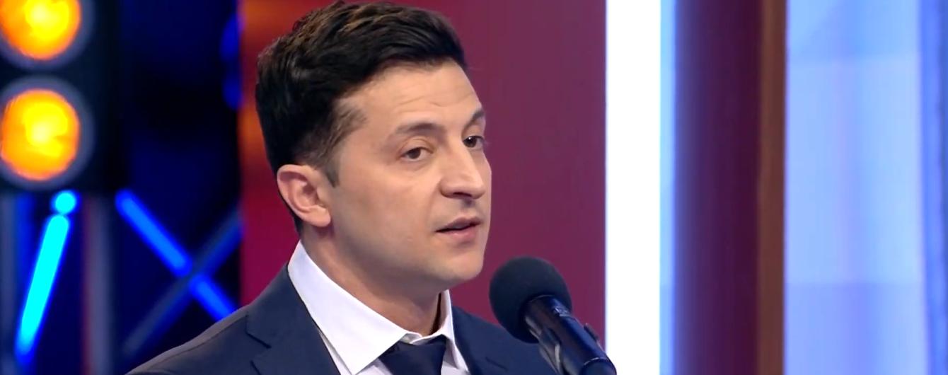 Зеленский ответил, пожмет ли руку Порошенко