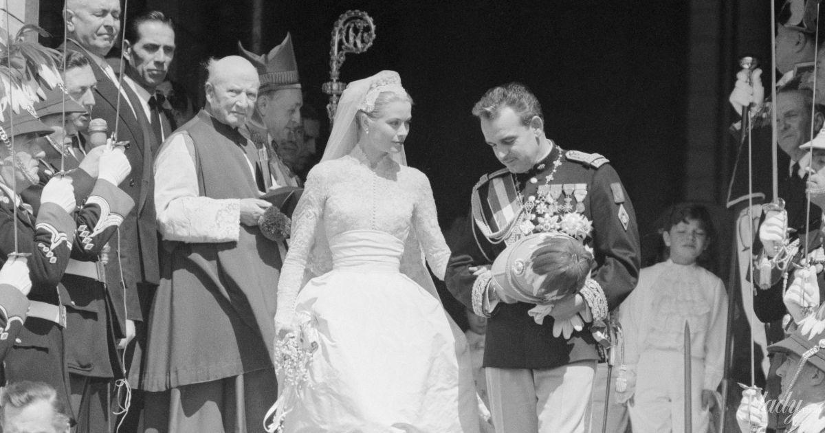 65 лет со дня свадьбы: каким было венчание княгини Грейс Келли и князя Монако Ренье III