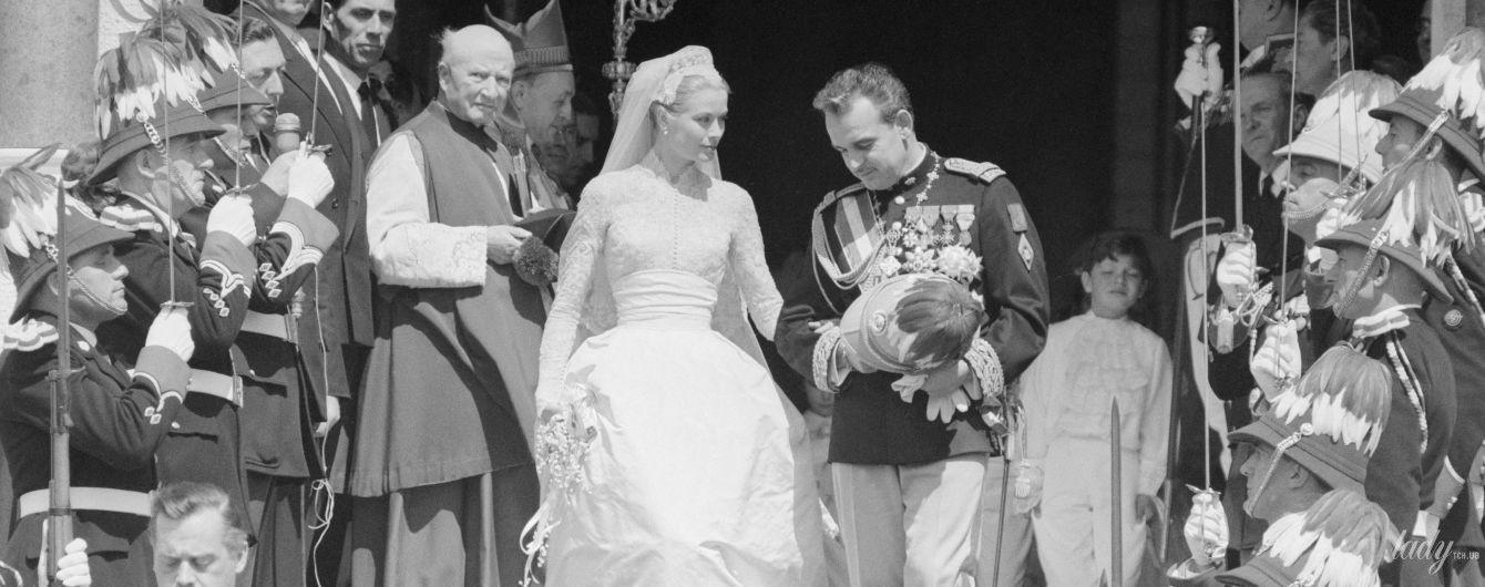 63-я годовщина со дня свадьбы: каким было венчание княгини Грейс Келли и князя Монако Ренье III