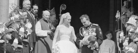 63-я річниця з дня весілля: яким було вінчання княгині Грейс Келлі і князя Монако Реньє III