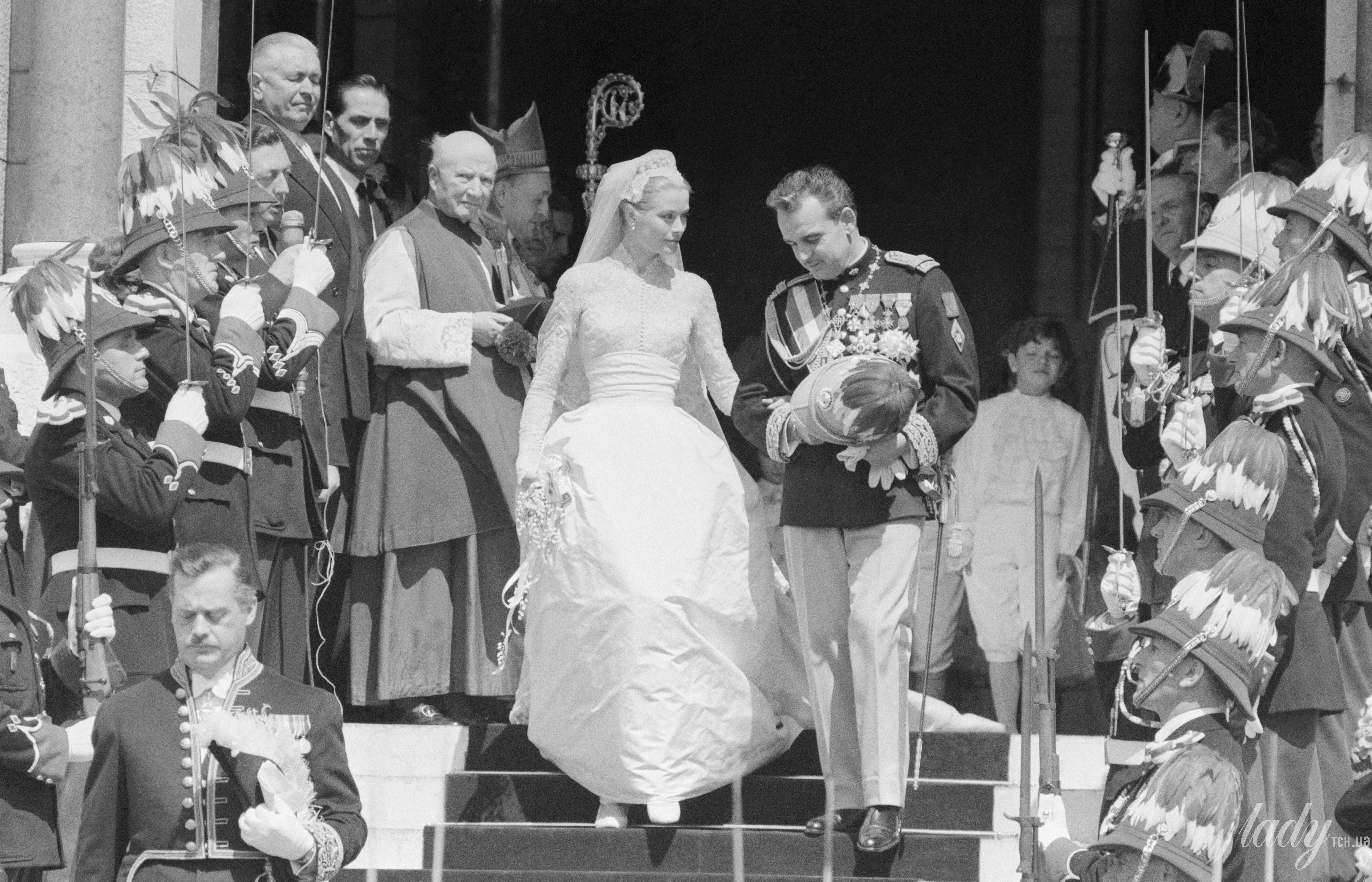 Свадьба Грейс Келли и князя Монако Ренье III_3