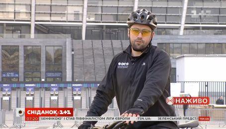 Антон Пшеничний нагадав правила дорожнього руху для велосипедистів