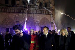 Макрон став популярнішим після пожежі у паризькому соборі