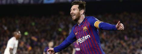Месси стал лучшим игроком недели Лиги чемпионов