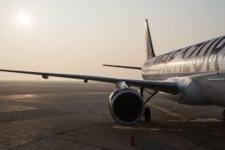 """У аеропорту """"Бориспіль"""" зустріли перший рейс французької авіакомпанії Aigle Azur"""