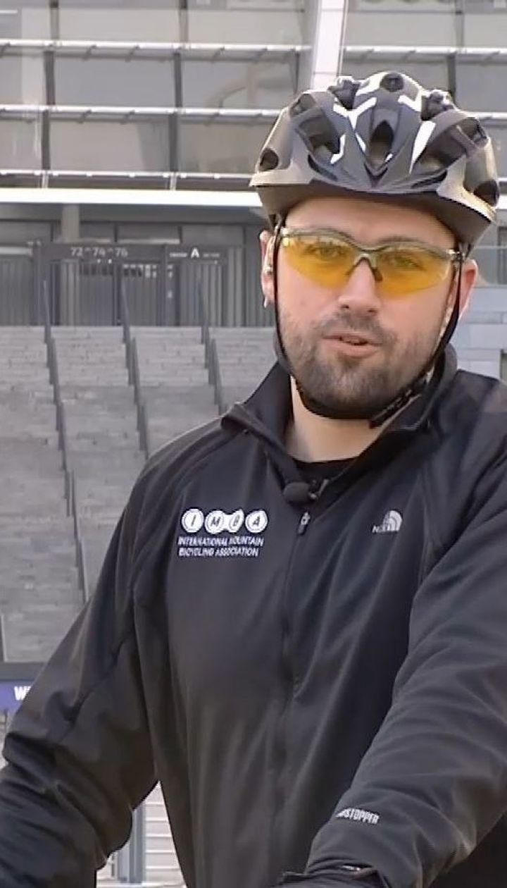 Антон Пшеничный напомнил правила дорожного движения для велосипедистов