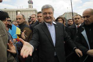 """В """"Европейской солидарности"""" заверили, что Порошенко всегда пересекал границу законно"""