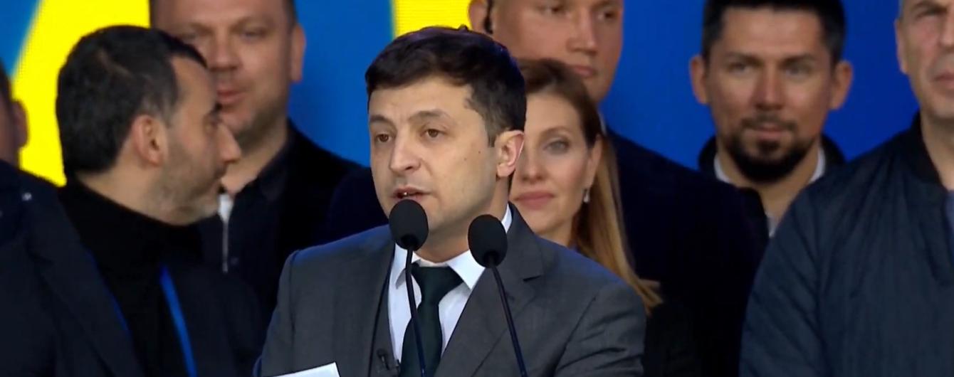 Зеленський запевнив, що буде тримати обраний українцями курс до Європи