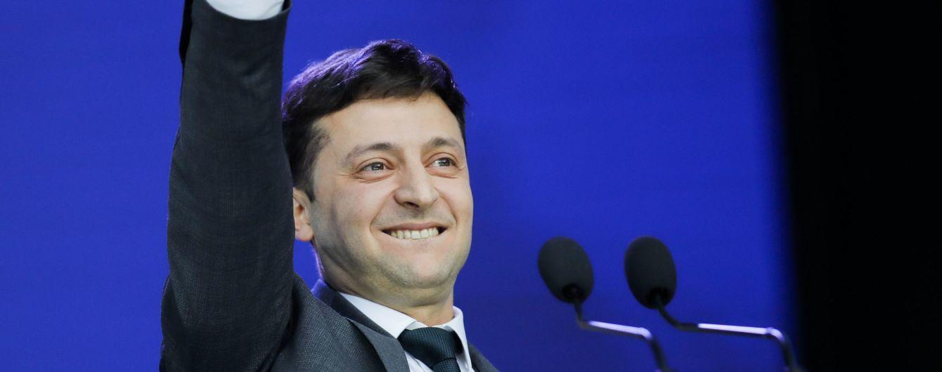 У команді Зеленського назвали час проведення інавгурації обраного президента