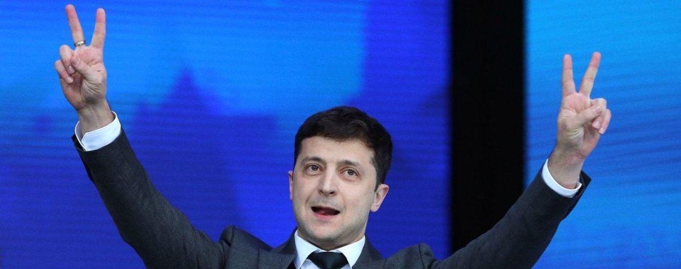 """Главный раввин Украины поздравил Зеленского с победой на выборах, призвав """"идти по пути честности и правды"""""""