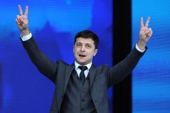 """Головний рабин України привітав Зеленського з перемогою на виборах, закликавши """"йти шляхом чесності і правди"""""""