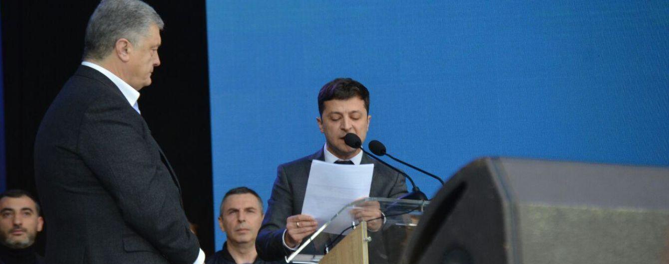 """""""Украл целый абзац"""". У Порошенко обвинили Зеленского в плагиате выступления"""